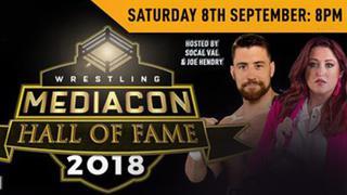 2018 Wrestling Mediacon Hall Of Fame