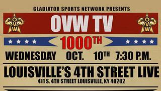 Ohio Valley Wrestling: 1000th episode