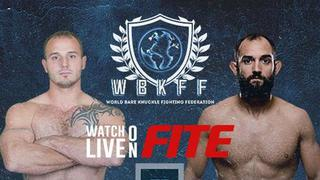 World Bare Knuckle Fighting Federation - Brennan Ward vs Johny Hendricks