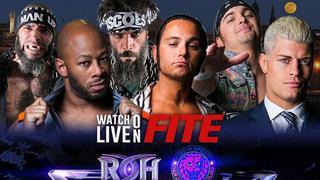 ROH Global Wars: Lewiston, ME