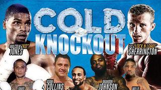 Cold Knockout: Malcom Jones vs. Les Sherrington Weigh In