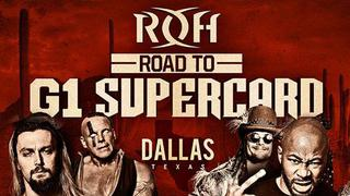 ▷ ROH Road to G1 Supercard - Houston, TX Official PPV