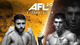 AFL MMA 20