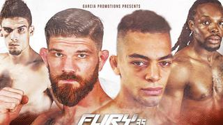 Fury Fighting Championships 35: Cameron Graves vs Colin Wright