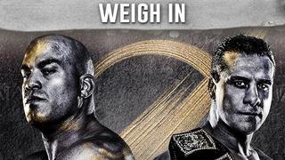 Weigh In: Tito Ortiz vs Alberto El Patron