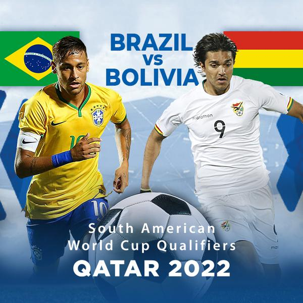 ▷ South America Qualifiers, Qatar 2022: Brazil vs Bolivia - PPV Replay