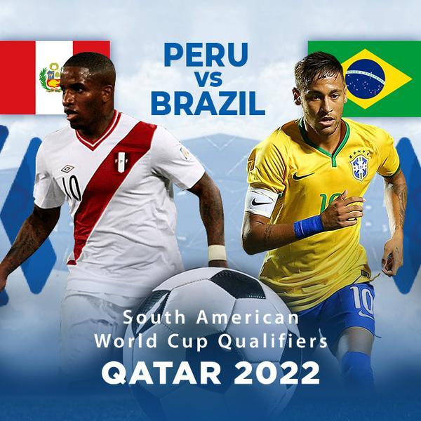 ▷ South America Qualifiers, Qatar 2022: Peru vs Brazil - PPV Replay