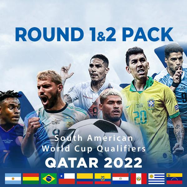▷ South America Qualifiers, Qatar 2022: Round 1&2 Pack - PPV Replay