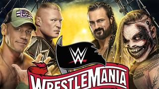 WrestleMania 36: Part 1