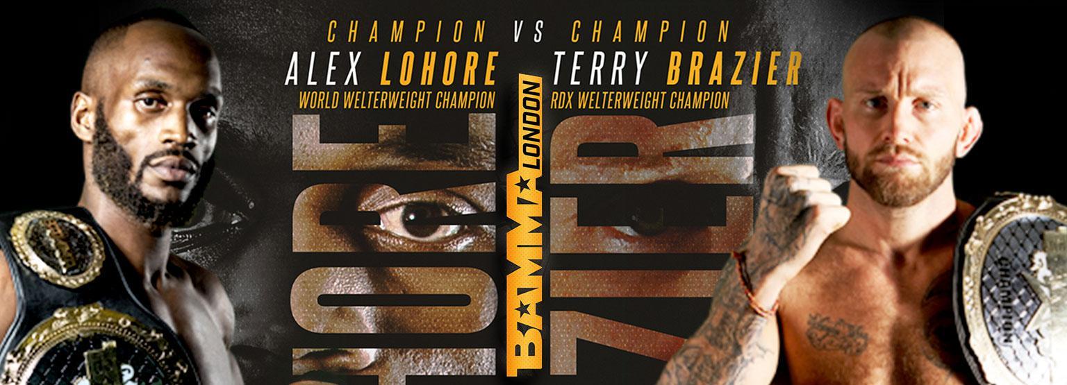BAMMA 34: Alex Lohore vs. Terry Brazier