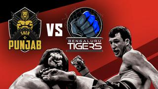 Super Fight League - Punjab vs Tigers