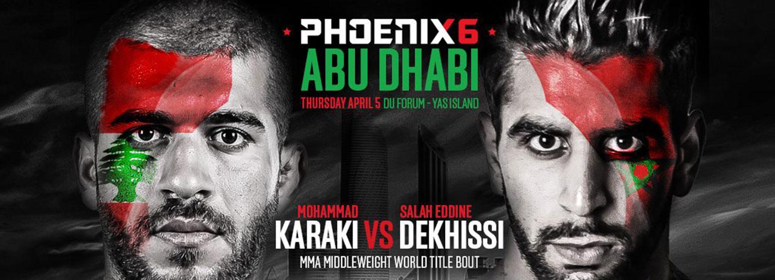 Phoenix Fighting Championship 6 (USA / Canada) Tape Delay