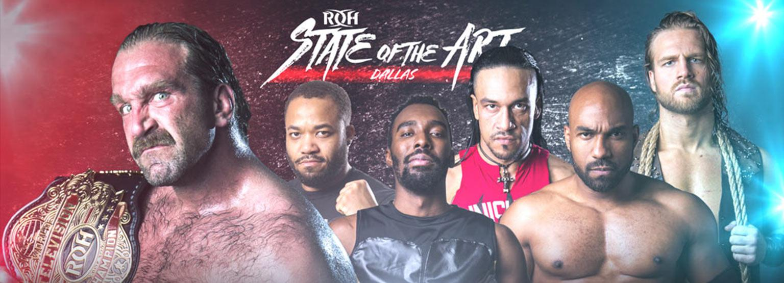 Ring of Honor Live - Dallas, TX