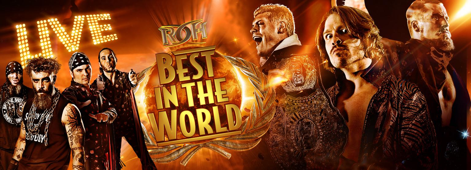 Image result for 2018 ROH Best in the World