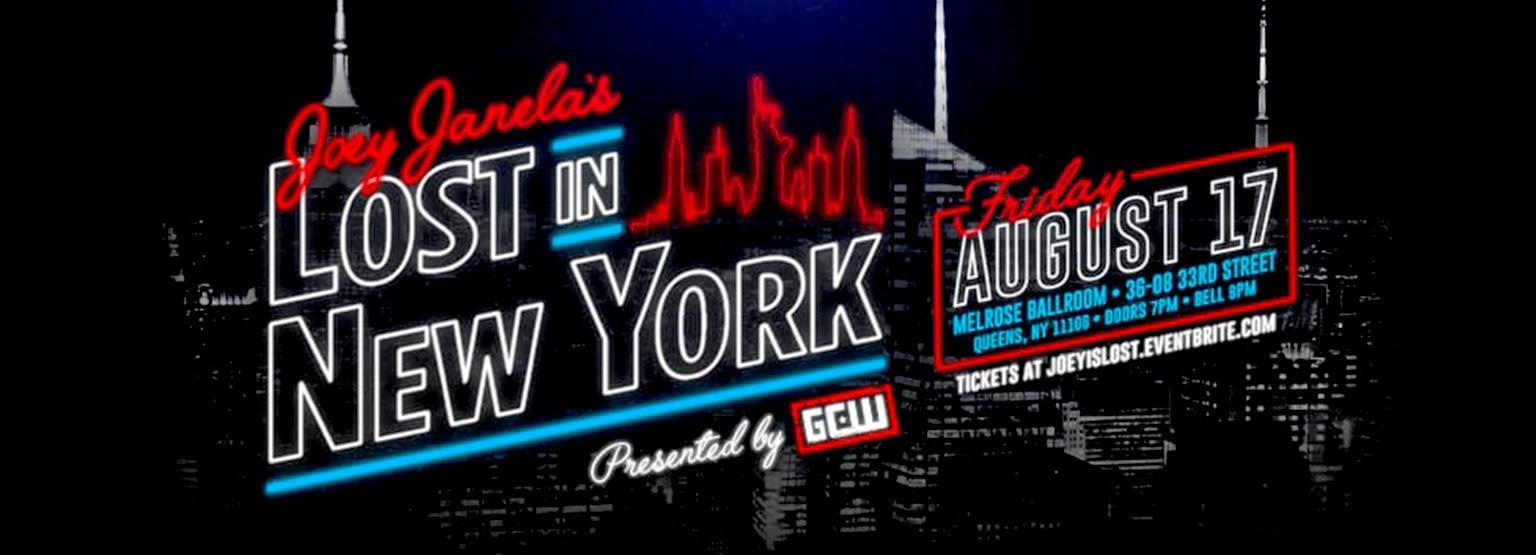 Joey Janela's Lost in New York