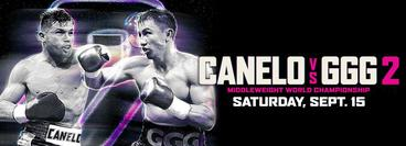 "Canelo Alvarez vs. Gennady ""GGG"" Golovkin 2"