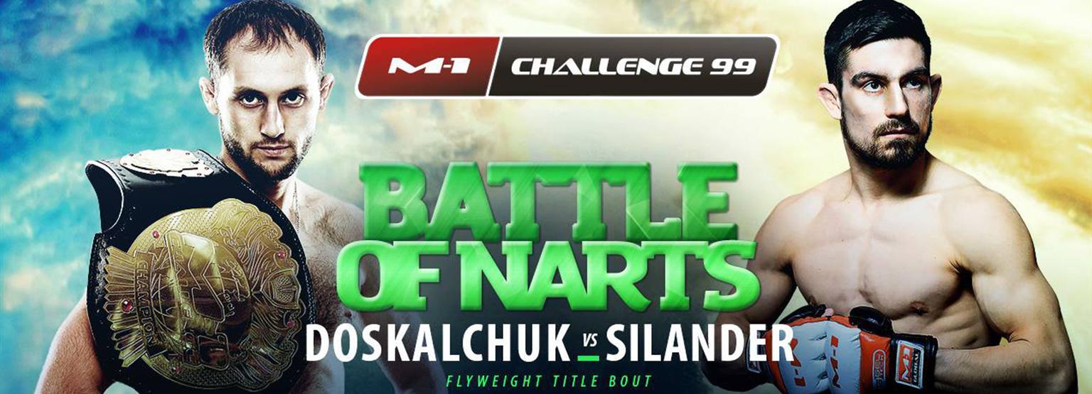 M-1 Challenge 99 - Silander vs Doskalchuk
