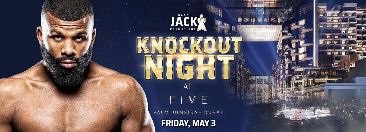 Badou Jack Promotions Presents: Knockout Night - Dubai