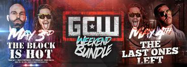 GCW Weekend package of the Asbury Park and Chicago Shows