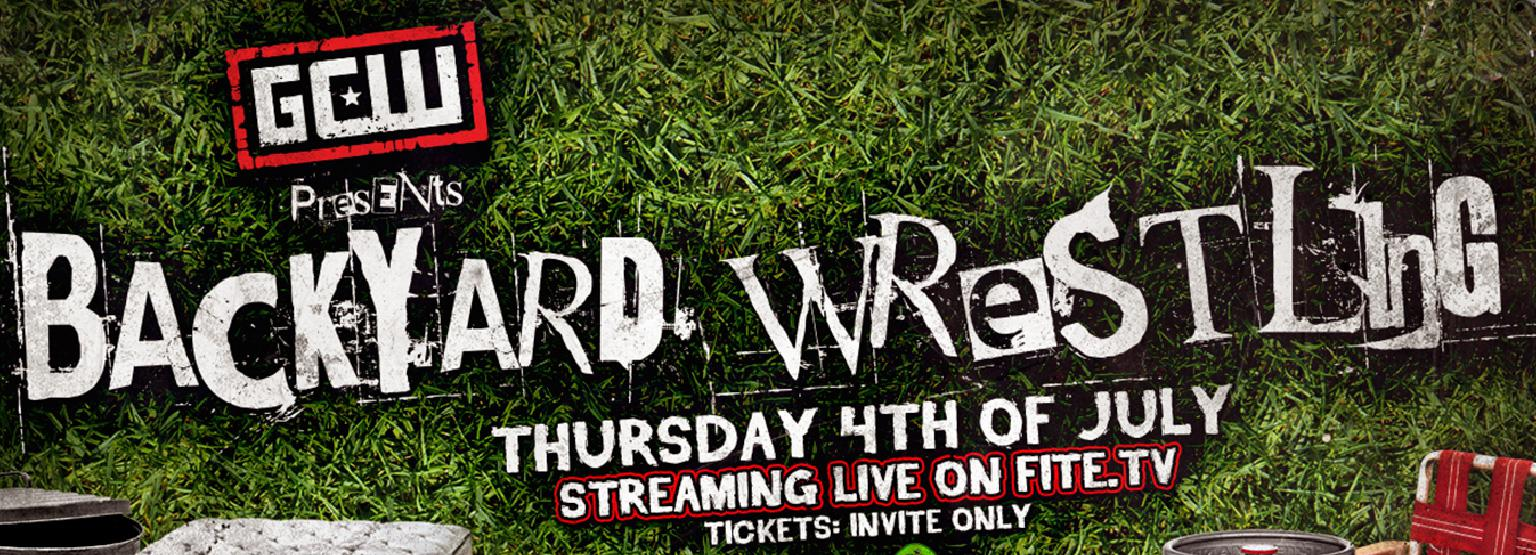 GCW Presents Backyard Wrestling