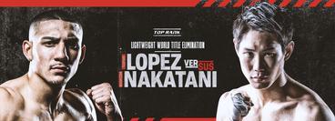 Top Rank: Teofimo Lopez vs Masayoshi Nakatani