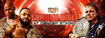ROH: Saturday Night at Center Stage - Atlanta, GA