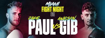 Jake Paul vs Gib, Andrade vs Keeler