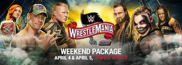 WrestleMania 36: Weekend Package