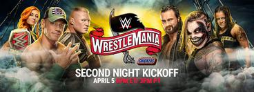 WrestleMania 36: Kickoff Part 2
