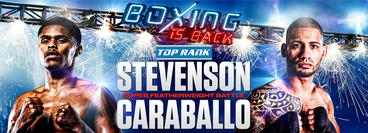 Top Rank: Shakur Stevenson vs Felix Caraballo