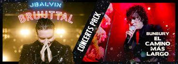 J Balvin & Enrique Bunbury Concerts Pack (Rebroadcasts)