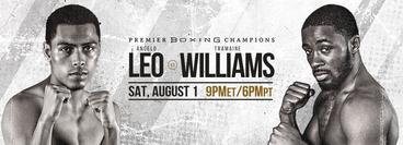 PBC: Tramaine Williams vs Angelo Leo