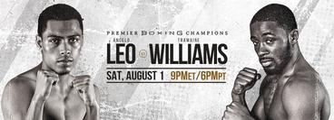 PBC: Tramaine Williams vs Angelo Leo