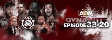 AEW: Dynamite, Episode 33-20