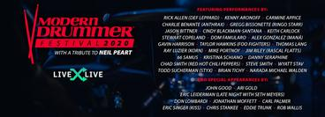 LiveXLive: Modern Drummer Festival 2020: A Tribute to Neil Peart