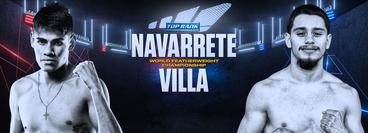 Top Rank: Ruben Villa vs Emanuel Navarrete