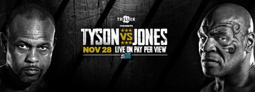 Mike Tyson vs Roy Jones Jr.