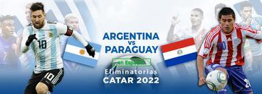 Eliminatorias, Catar 2022: Argentina vs Paraguay