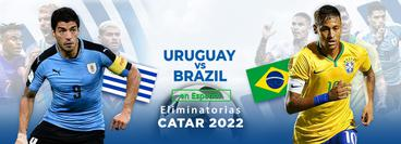 Eliminatorias, Catar 2022: Uruguay vs Brasil