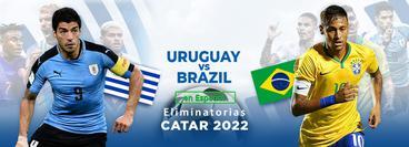 Eliminatorias, Catar 2022: Uruguay vs Brasil