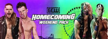 GCW: Homecoming 2021 Weekend Pack