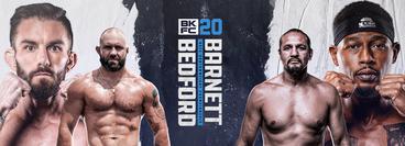 BKFC 20: Johnny Bedford vs Reginald Barnett Jr.