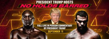 Donald Trump: No Holds Barred - Live Alternative Commentary for Triller Fight Club: Holyfield vs Belfort PPV