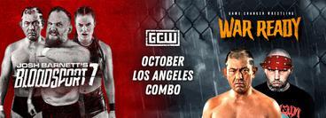 GCW: October Los Angeles Combo