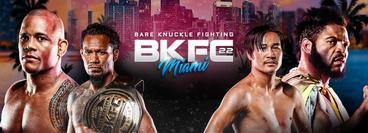 BKFC 22 Miami: Hector Lombard vs Lorenzo Hunt