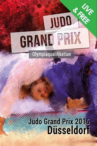 Judo_GP_Dusseldorf_2016_Poster