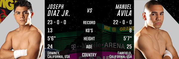OPENING PPV FIGHT: DIAZ JR. VS. AVILA