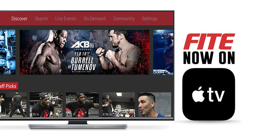 ▷ FITE App officially launches on Apple TV Today - FITE