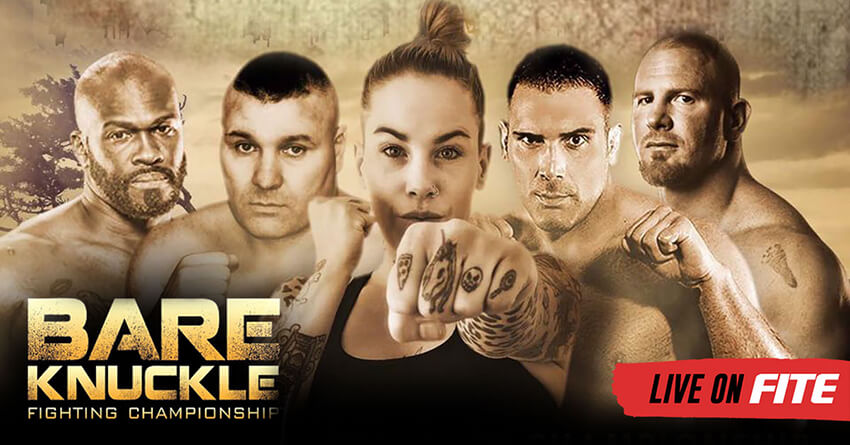 It's Bare Knuckle Boxing big weekend!