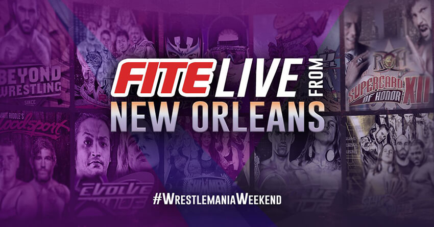 ▷ FITE announces LIVE TV programming schedule from New Orleans - FITE